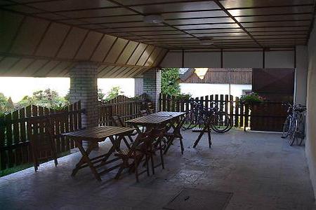 Ubytování jižní Čechy - Penzion v Záhoří - venkovní posezení