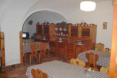 Ubytování jižní Čechy - Penzion v Záhoří - restaurace
